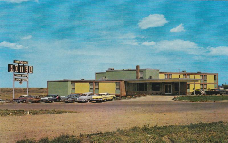 Park Lane Motor Hotel, Classic Cars, MEDICINE HAT, Alberta, Canada, 40-60´s