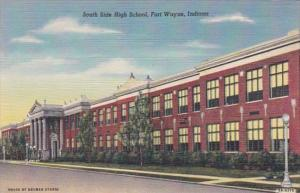 South Side High Schoole Fort Wayne Indiana Curteich