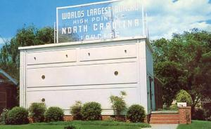 NC - High Point. World's Largest Bureau