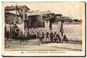 Postcard St Avold Old Quarter Mahon 146me infantry regiment