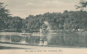 CLEVELAND, Ohio, 1901-07; The Lake in Wade Park