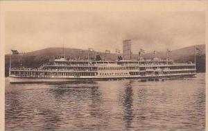 Hudson River Day Line Steamer Robert Fulton Albertype