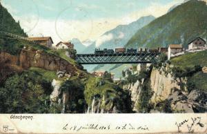 Switzerland Göschenen 02.94