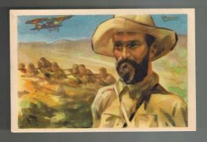 Mint Spain Civil War Postcard Red Cross Juan Fernandez El Negus