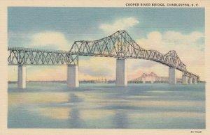 CHARLESTON, South Carolina, 30-40s; Cooper River Bridge, version 2