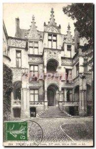 Old Postcard Tours L & # 39Hotel Gouin
