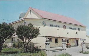 Exterior, Hollenbach's Barn, Shartlesville, Pennsylvania, 1940-1960s