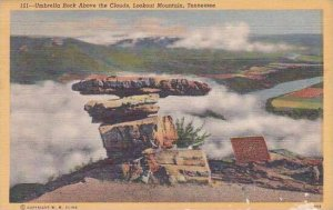 Tennesse Lookout Mountain Umbrella Rock Above The Clouds 1948