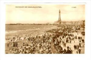 RP, Promenade & Sands, Blackpool (Lancashire), England, UK, 1920-1940s