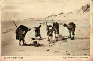 CPA Berck Plage- Types de Verrotier et Verrotieres FRANCE (908919)