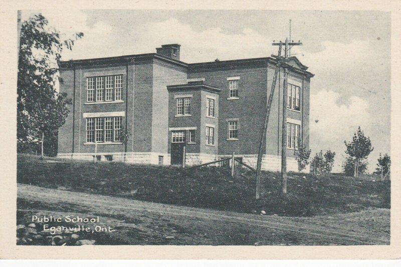 EGANVILLE , Ontario , 1900-10s ; Public School