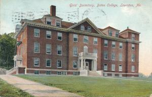 Girl's Dormitory at Bates College - Lewiston, Maine - pm 1909 - DB