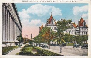 New York Albany State Capitol and Education Building 1932
