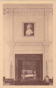 Virginia Fredericksburg The Mantelpiece In Drawing Room Of Mary Washingtons H...