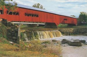 1861 IN Bridgeton Raccoon Covered Bridge