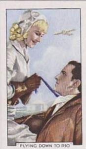 Gallaher Cigarette Card Shots From Famous Films No. 18 Flying Down To Rio