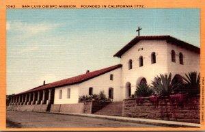 California San Luis Obispo Mission Founded 1772