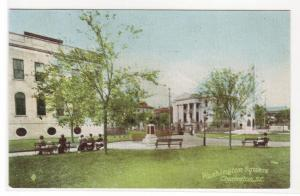 Washington Square Charleston South Carolina 1910c postcard