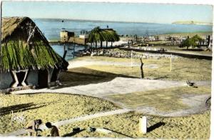 CPA Maroc Casablanca Piscine du Tahiti (23609)