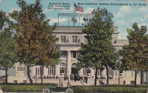 Arkansas Hot Springs Buckstaff Baths 1919