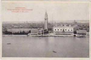 Ascensore delle Officine Meccaniche Stigler di Milano, Lombardia, Italy 1900-10s