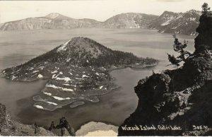 RP: CRATER LAKE NAT'L PARK, Oregon , PU-1946 ; Wizard Island