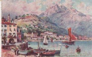 MENTON, France, 1900-10s; GARAVAN, Vue de Port; TUCK #121