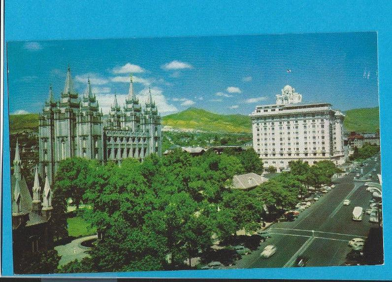 Postcard Temple Square Mormon Temple Salt Lake City Utah   # 224