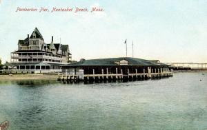 MA - Nantasket Beach. Pemberton Pier