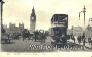 United Kingdom, UK, England, Great Britain Westminster Bridge London  Westmin...