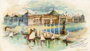 World's Columbia Exposition, 1893 - Agricultural Building, Advertising