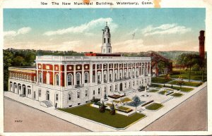 Connecticut Waterbury The New Municipal Building 1918