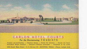 HOUSTON , Texas , 1930-40s ; Carlon Hotel Courts