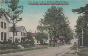 NORTHAMPTON , Massachusetts , 1909 ; Main Street