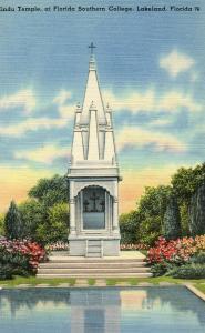 FL - Lakeland. Florida Southern College, Hindu Temple