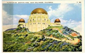 CA - Hollywood, Griffith Park, Planetarium