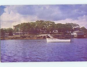 Unused Pre-1980 SMUG HARBOR Boothbay Harbor Maine ME hn1323