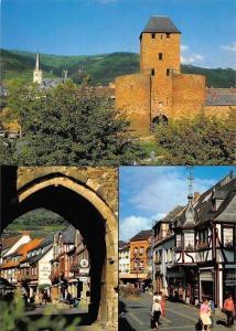 Romantisches Ahrweiler, Ahrtor mit St. Laurentius Kirche, Haus Wolff