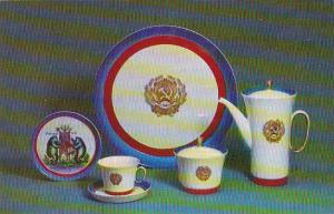 Russia Leningrad Coffee Set Russia Town Emblems 1967 Museum Of The Lomonosov ...