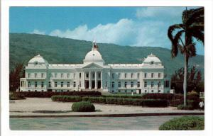 PORT-AU-PRINCE, Haiti; La Palais National, Presidential Palace, 40-60s