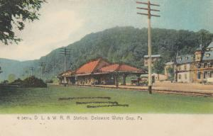 DELAWARE WATER GAP, Pennsylvania, 1901-07; D. L. & W. Railroad Station