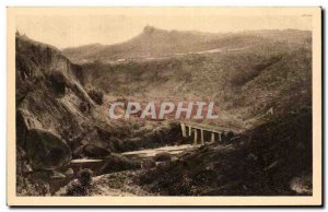 Old Postcard From The Region Velap La Vallee From & # 39Allier A Rochegude