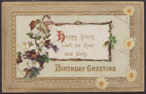 Birthday Greeting,Flowers