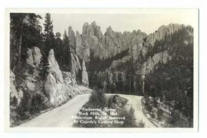RP of Cathedral Spires, Black Hills, South Dakota SD
