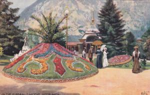 TUCK 7664 , In the Kursaal Gardens , INTERLAKEN , Switzerland , 1900-10s