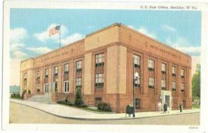 Post Office in Beckley, West Virginia, WV, Linen