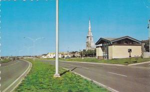 Le magnifique boulevard Lepage, Rimouski,  Quebec,  Canada, 40-60s