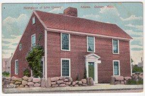 Quincy, Mass, Birthplace of John Quincy Adams