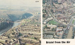 Bristol From The Air Postcard