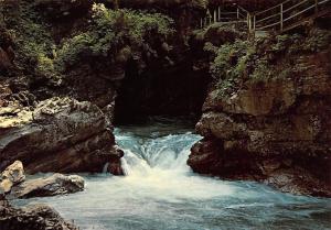 Breitachklamm bei Oberstdorf Allgaeu Creek